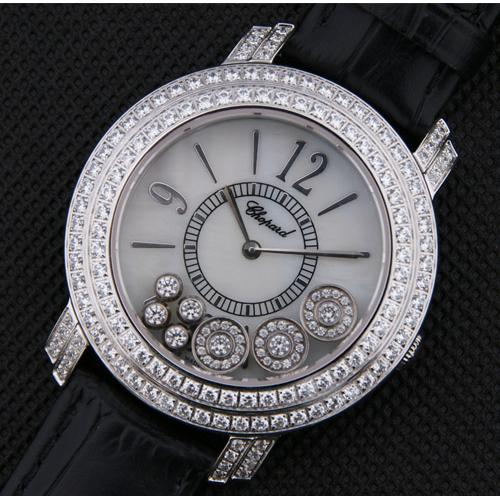 高仿萧邦(Chopard) Happy Diamonds系列手表209274-5001女士腕表